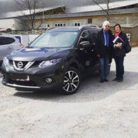 Familie Huber/ Nissan X-Trail